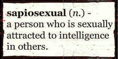 Sapiosexuell