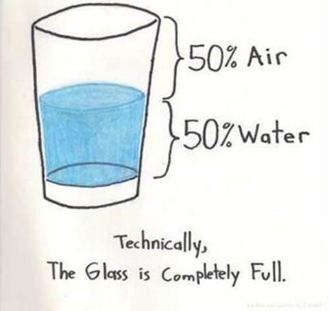 Halb Voll Glas Quot Das Glas Ist Halb Voll Quot 1